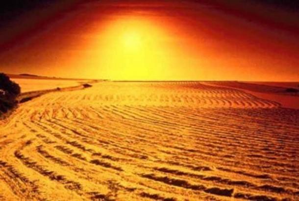 Gurun pasir (ilustrasi)