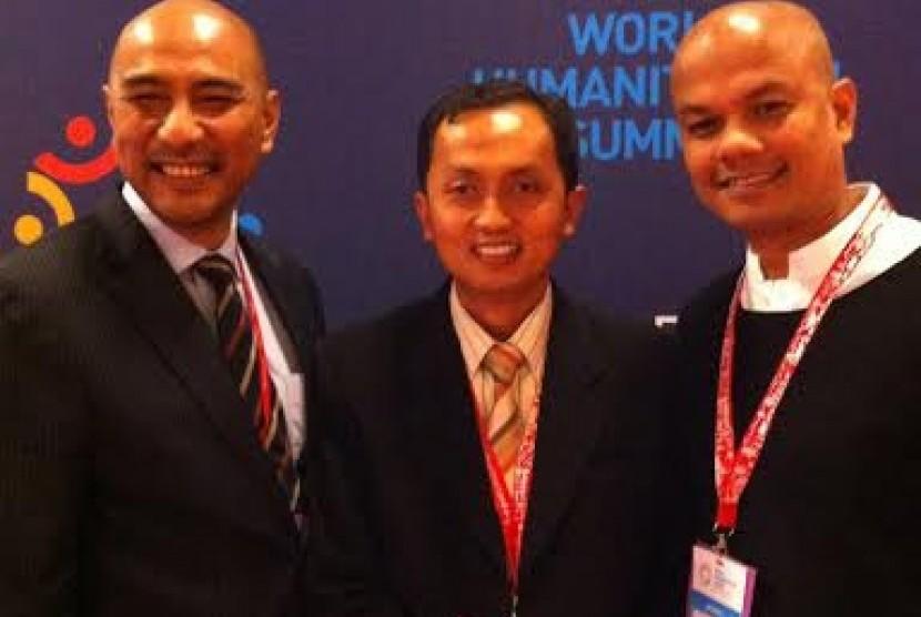 Delegasi Indonesia menghadiri  World Humanitarian Summit di Turki.