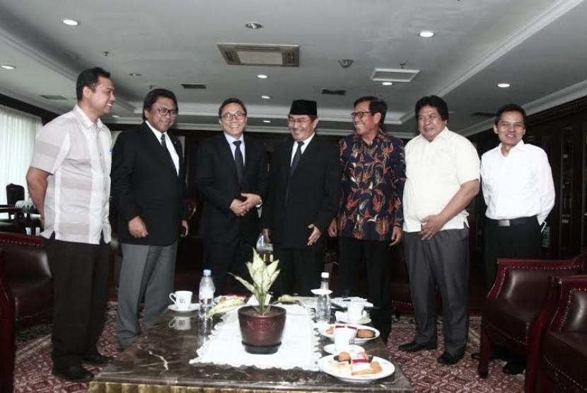 ICMI bersilaturahim dengan pimpinan MPR.