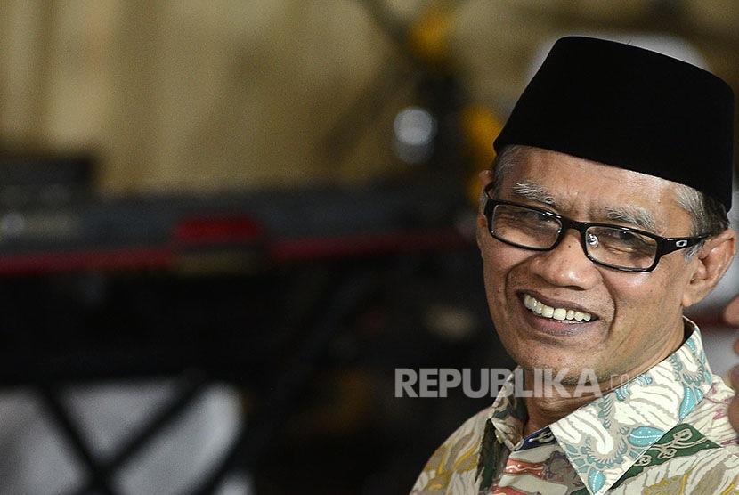 Ketua Umum Pimpinan Pusat Muhammadiyah Haedar Nashir.