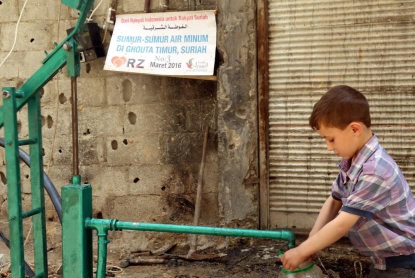 Kontribusi Masyarakat Indonesia melalui RZ di Suriah