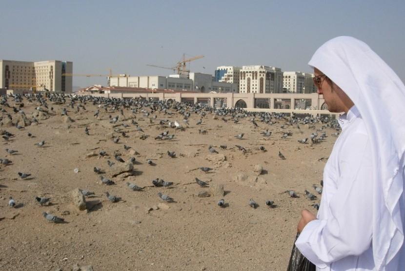 Makam Baqi' di Madinah, Arab Saudi.