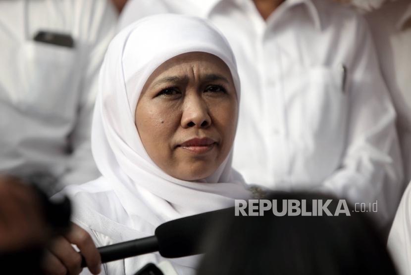 Menteri Sosial (Mensos) Khofifah Indar Parawansa