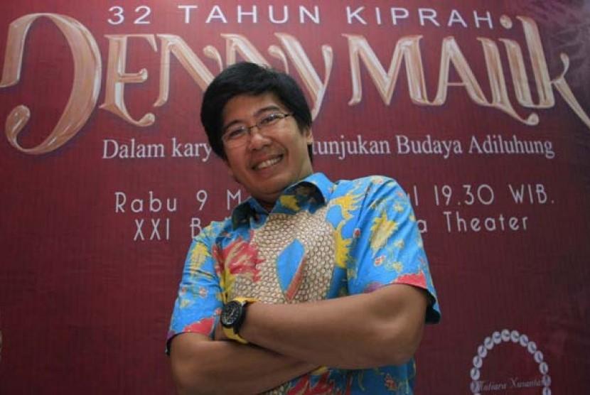 Denny Malik Pentaskan Drama Musikal Siti Nurbaya Kasih Tak
