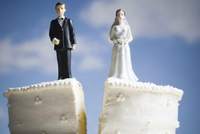 Perceraian (Ilustrasi)