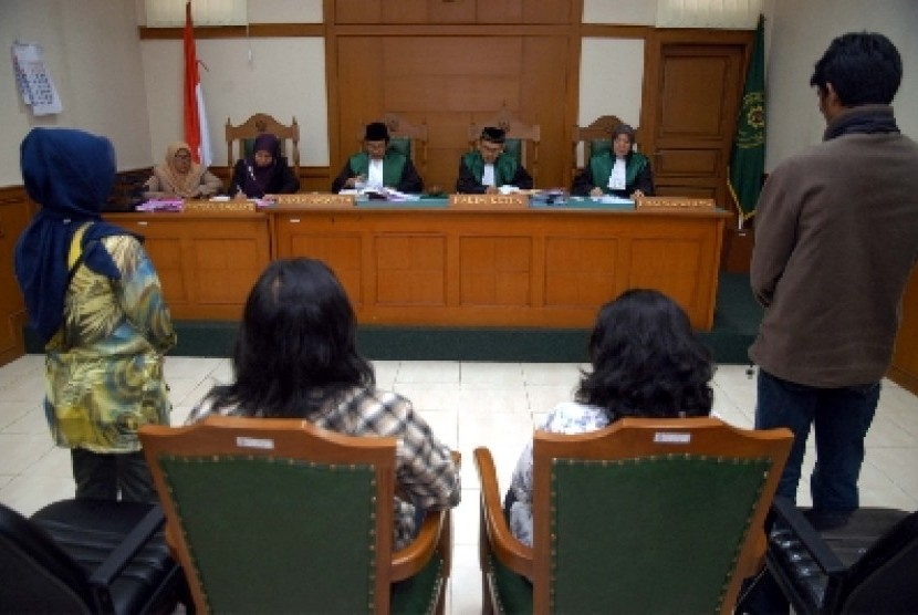 Sidang perceraian di Pengadilan Agama (ilustrasi).