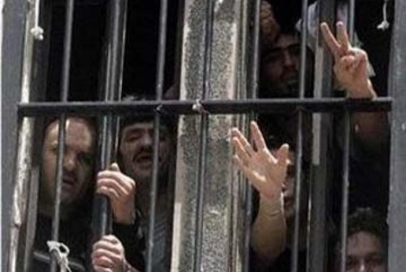 Tawanan Palestina di penjara Israel