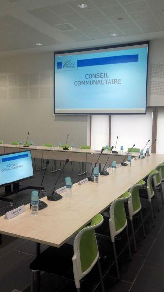 Salle du conseil communautaire CCVI