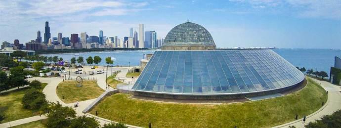 o que fazer em Chicago - Adler Planetarium chicago
