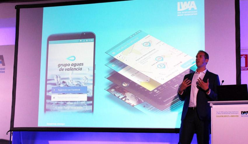 Aguas de Valencia expone en la IWA LET 2016 sus innovaciones en gestión de contadores inteligentes