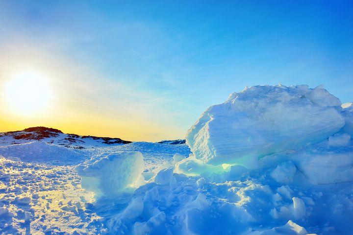 グリーンランドの奇跡!美しく幻想的な「アイスキャニオン」って知ってる?