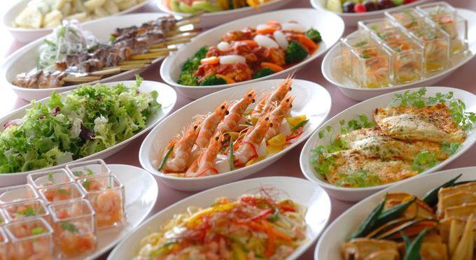 富山第一ホテルには和食、洋食、中華を始めとしてたくさんのレストランやバー、宴会場などがあります。
