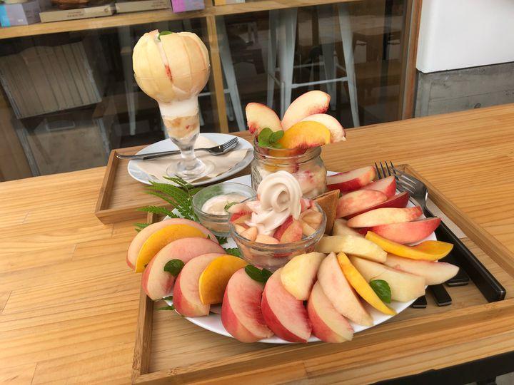 """山梨の果物を贅沢にいただく!富士大石ハナテラス""""葡萄屋コウフ""""に行きたい"""