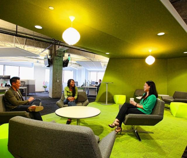 App Dynamics Office Green Breakout Area Meeting