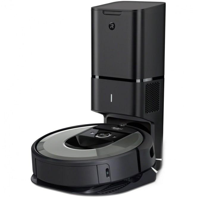 iRobot Roomba i7+ silver WiFi - Zánovní - Robotický vysavač