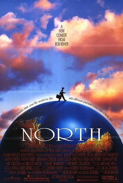 Poster for motion picture: North