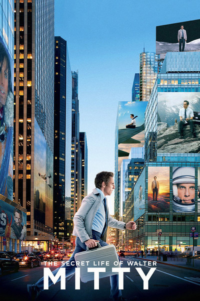 The Secret Life of Walter Mitty Movie Poster