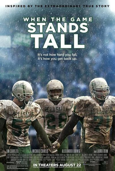 When the Game Stands Tall Movie Poster