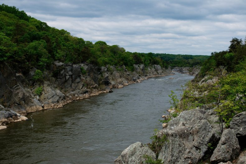 Views of the Potomac River along the Billy Goat Trail