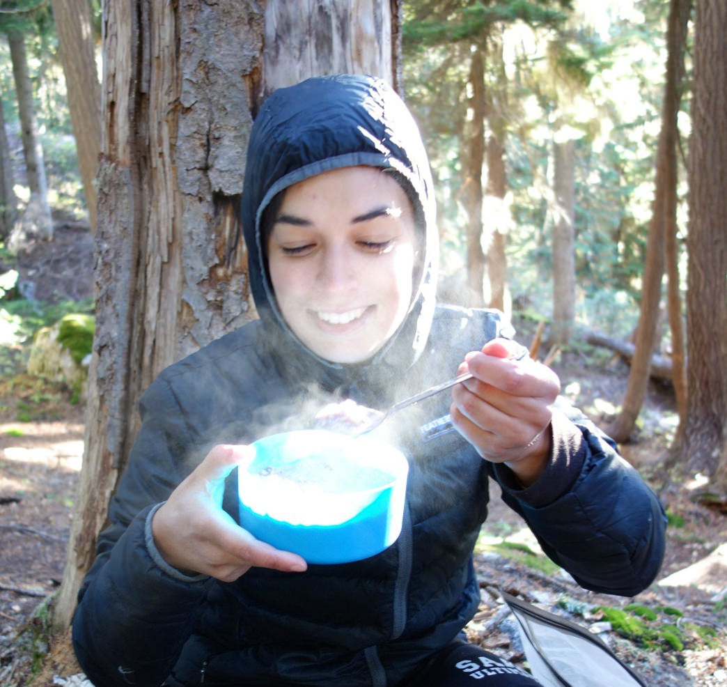 Oatmeal: The breakfast of backpacker champions