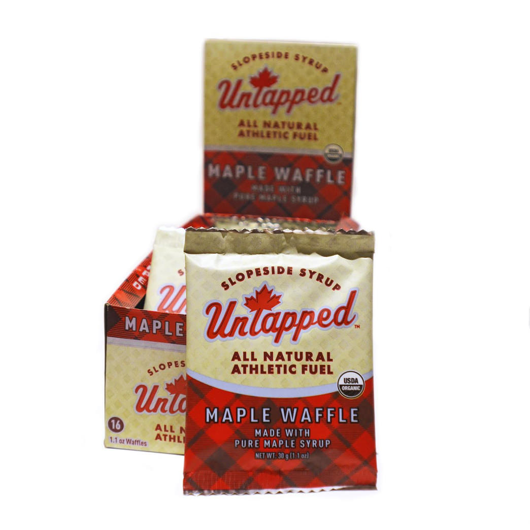 Untapped's latest power fuel offering, maple waffles