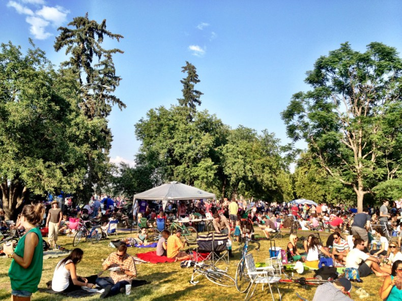 City Park Jazz, Denver, Colorado.