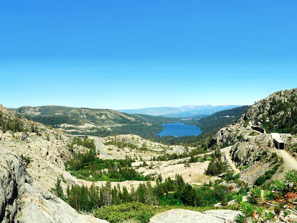 Donner Pass Summit on the PCT in California