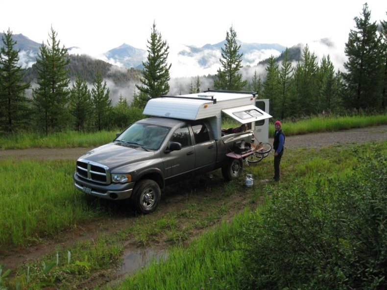 The perfect setup for Yellowstone National Park.