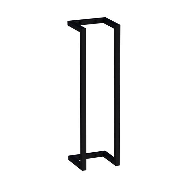 saniclass porte serviettes 60x15x15 combinaison horizontale verticale noir mat