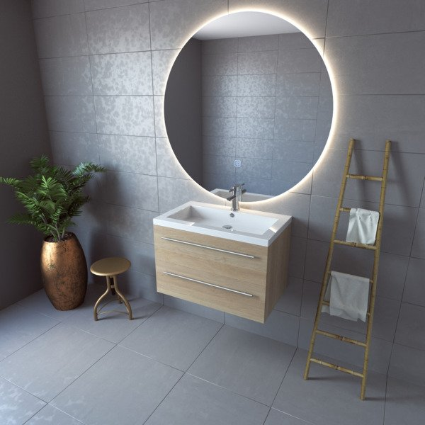 Miroir Rond Salle De Bain 120 Cm Bright Shadow Online
