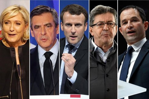 Лидеры президентской гонки