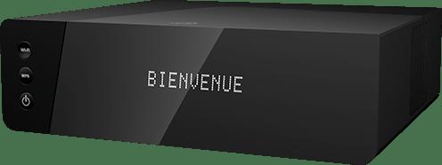 box 4K de SFR : facade avant