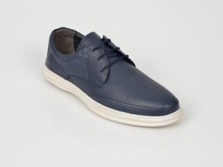 Pantofi OTTER bleumarin, 9243105, din piele naturala