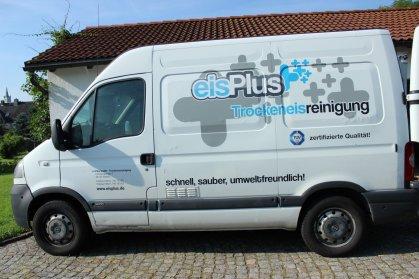 Transporter mit Kühlung für Eispellets - eisplus.de