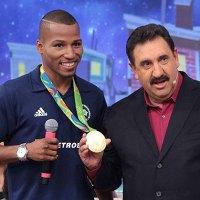 Programa do Ratinho quarta-feira 24/08/2016 – Ratinho recebe o Robson Conceição, medalha de ouro no Boxe nesta quarta