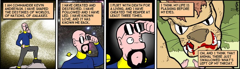 The entire comic was recoloured and shaded for print. This is the online version.