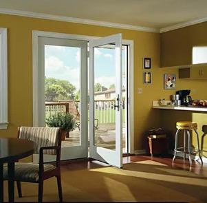 hinged patio door vs a sliding door