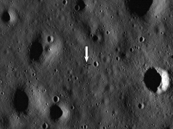 Apollo 11 lander spotted by lunar satellite - Scientific ...