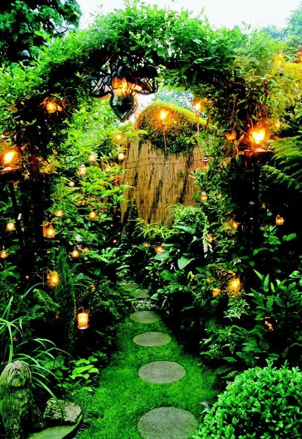 The magic of a twilight garden | The Seattle Times on Magical Backyard Ideas id=41190