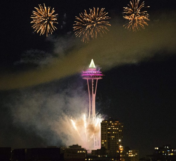 New forecast looks good for Space Needle fireworks | The ...