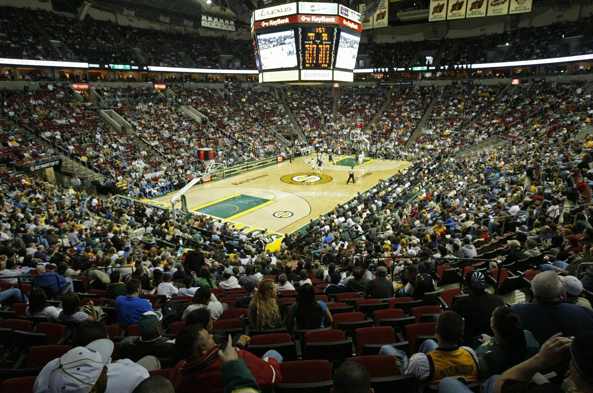 City Brushed Off Feasibility Of Nhl Nba At Keyarena The