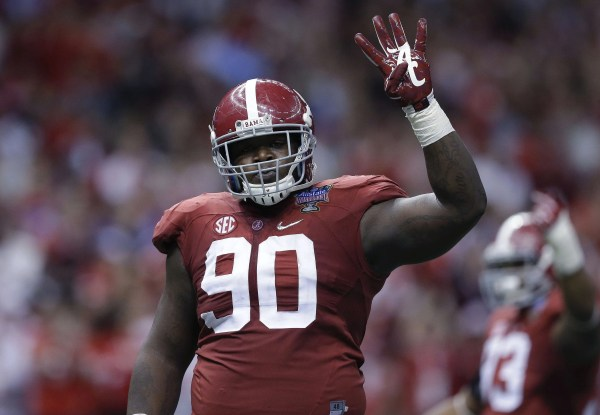 Seahawks' Jarran Reed agrees to terms, first of draft ...