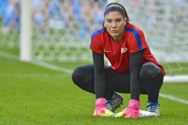 Watch: The moment Hope Solo heard about her U.S. women's ...
