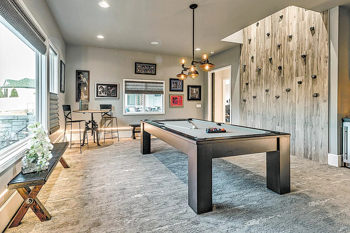 Versatilitys The Key In The Modern Rec Room The Seattle Times