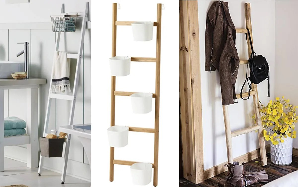 Step Up Your Storage With Decorative Ladders The Seattle