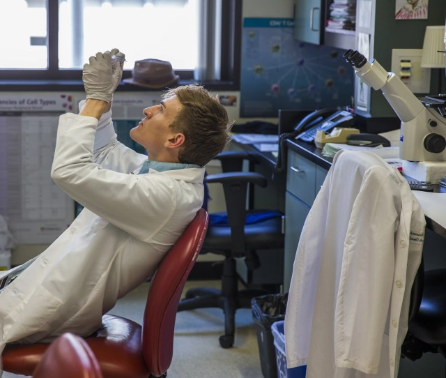 Blake Rust Post Doctorate Researcher In The Wambre Lab At The Benaroya Research Institute