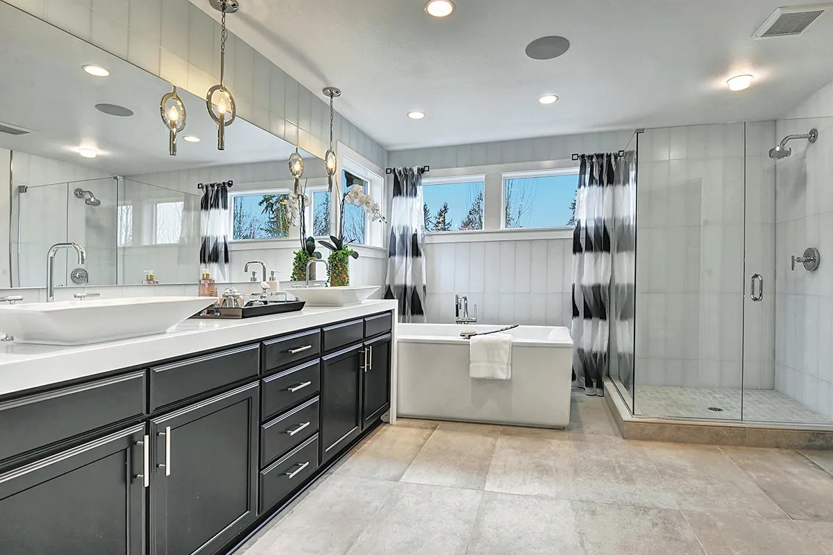 Decorated model home gets gold-medal treatment | The ... on Bathroom Models  id=51508