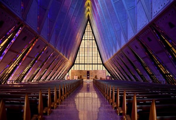 Landmark Air Force chapel suffering from leaks, corrosion ...