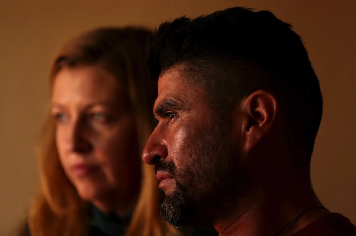 Before his deportation order, Rafael and Joy lived for years in Kirkland, Wash. They met working at a restaurant. (Erika Schultz / The Seattle Times)