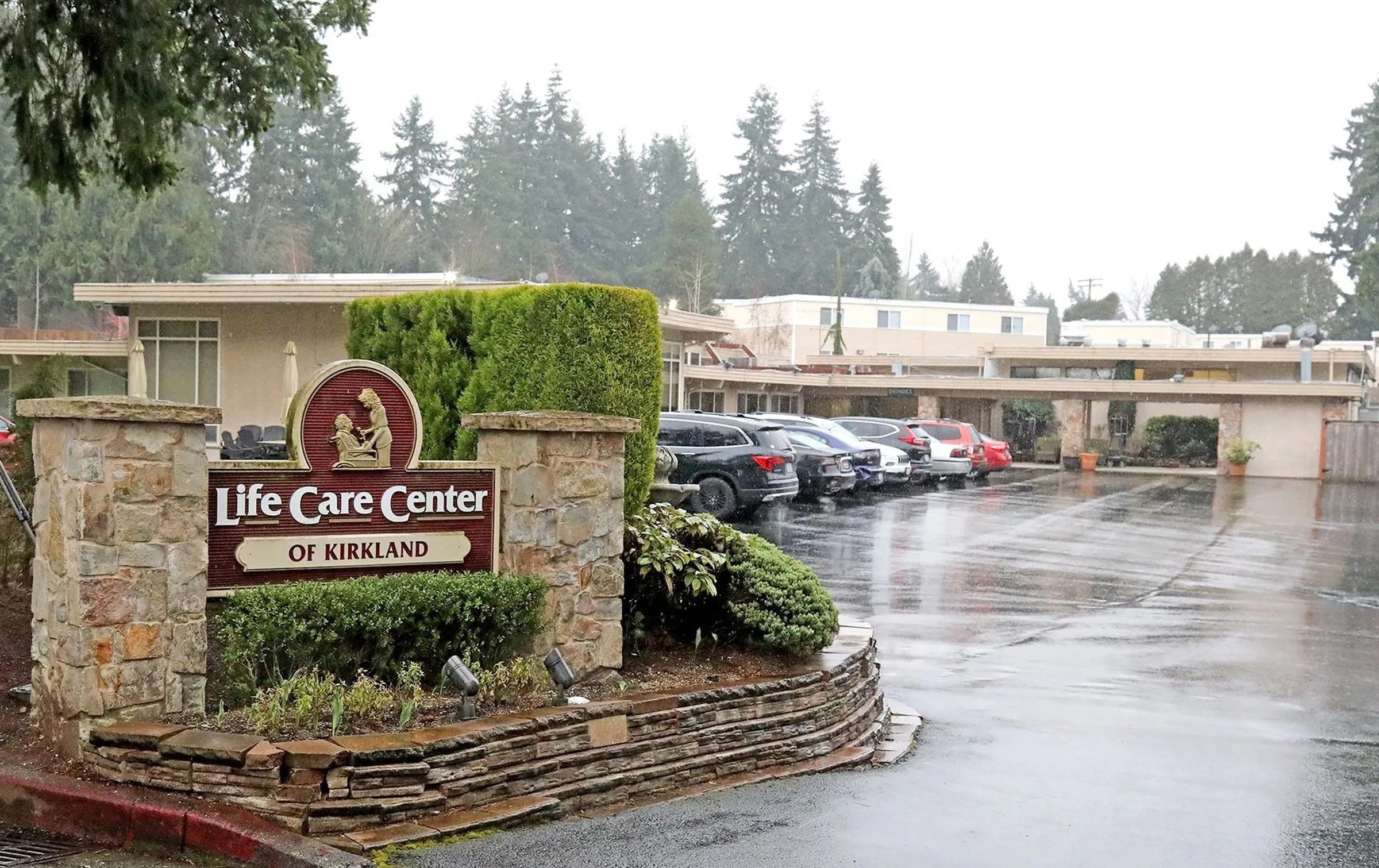 First days at the heart of an outbreak: Life Care nursing ... on Life Care Center Of Kirkland id=50752